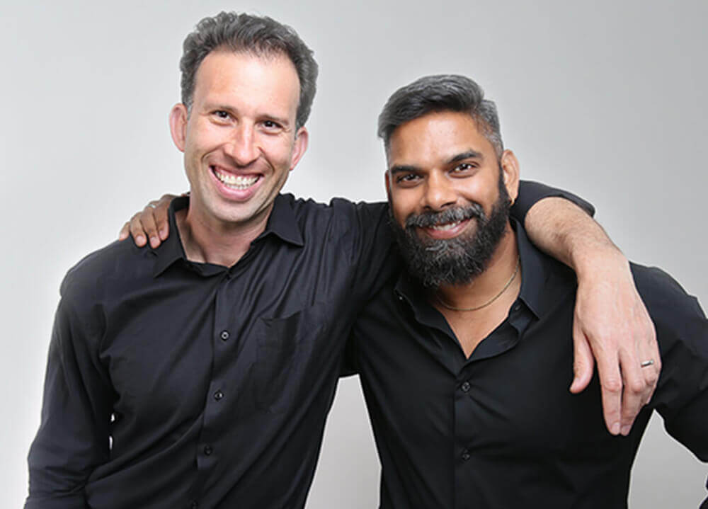 our founders, jake and ramit
